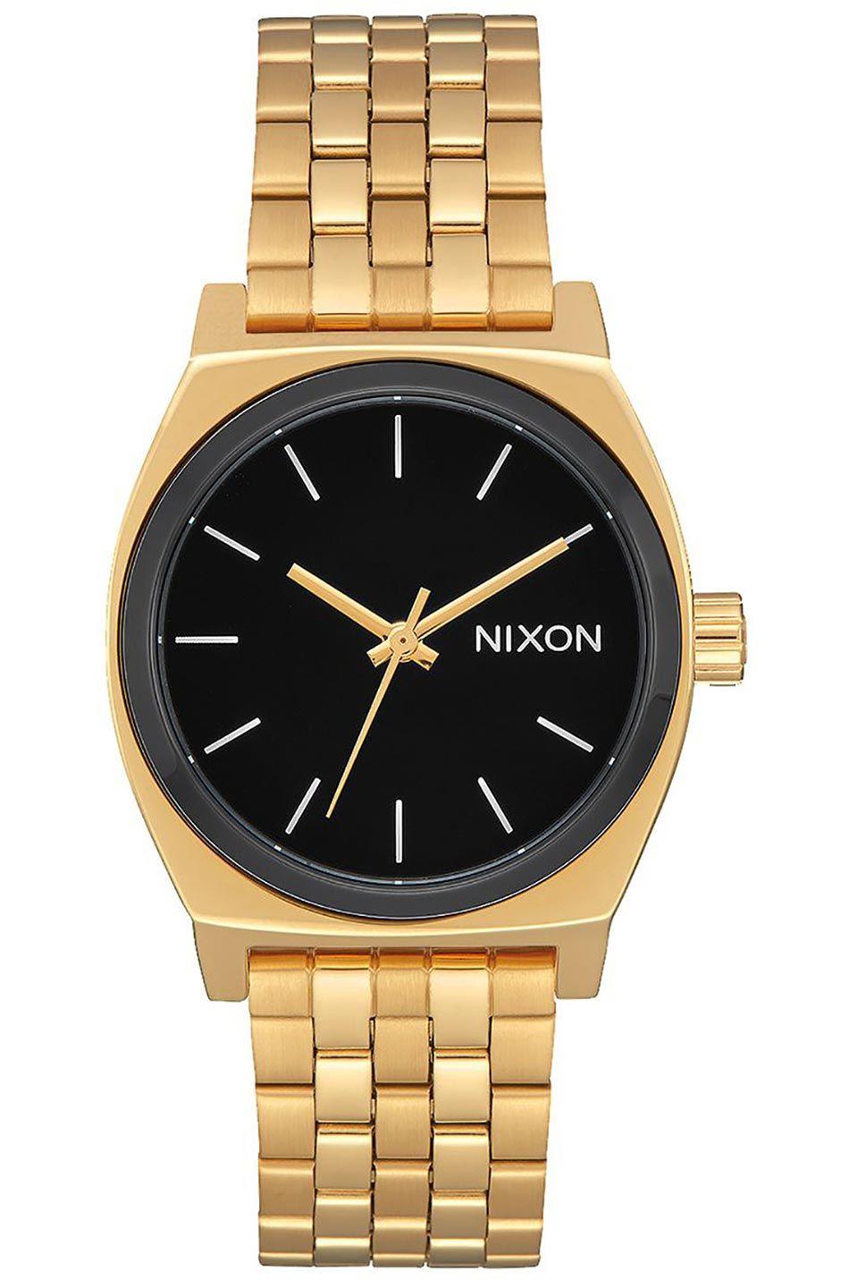 Relogio Nixon Medium Time Teller Gold/Black/White