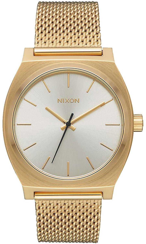 Relogio Nixon TIME TELLER MILANESE All Gold/Cream