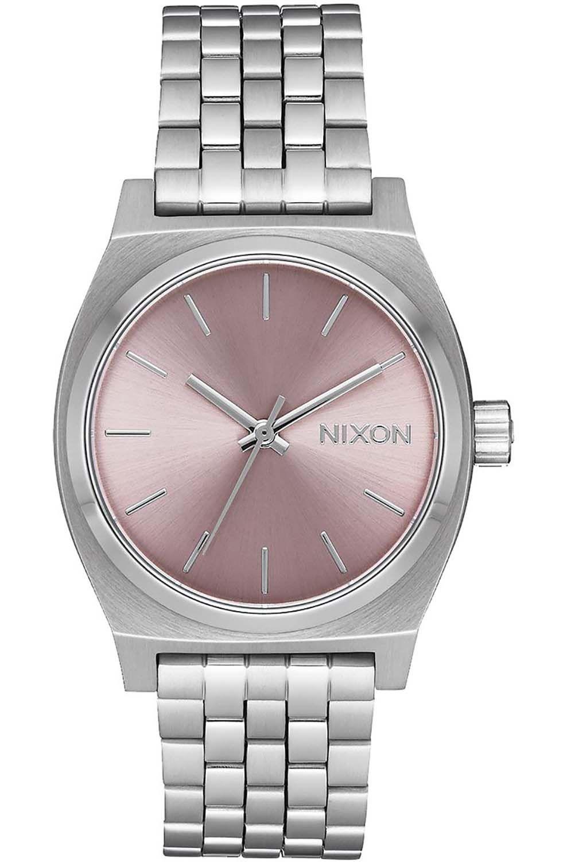 Relogio Nixon MEDIUM TIME TELLER Silver/Pale Lavender