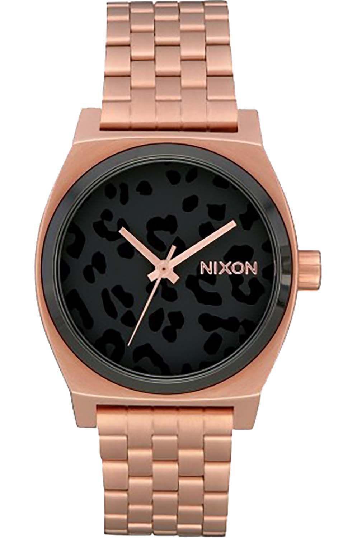 Relogio Nixon MEDIUM TIME TELLER All Rose Gold/Black/Cheetah