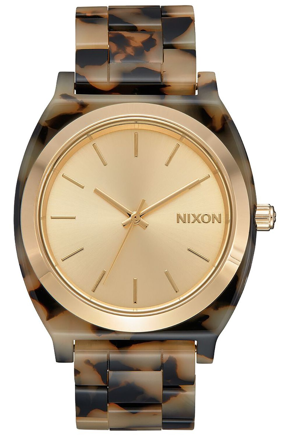 Nixon Watch TIME TELLER ACETATE Cream Tortoise