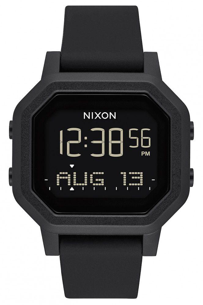 Nixon Watch SIREN All Black
