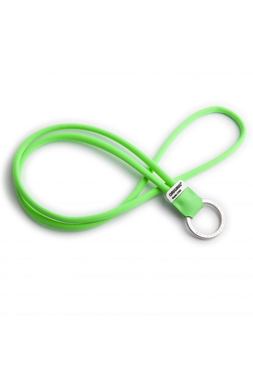 Original Lanyards Keychain SOLID LINE Gecko Green