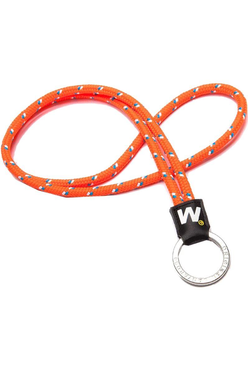 Original Lanyards Keychain LEIS HAWAII Nautic Orange