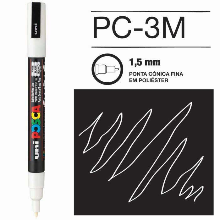 Canetas/Tintas Posca 3M Assorted