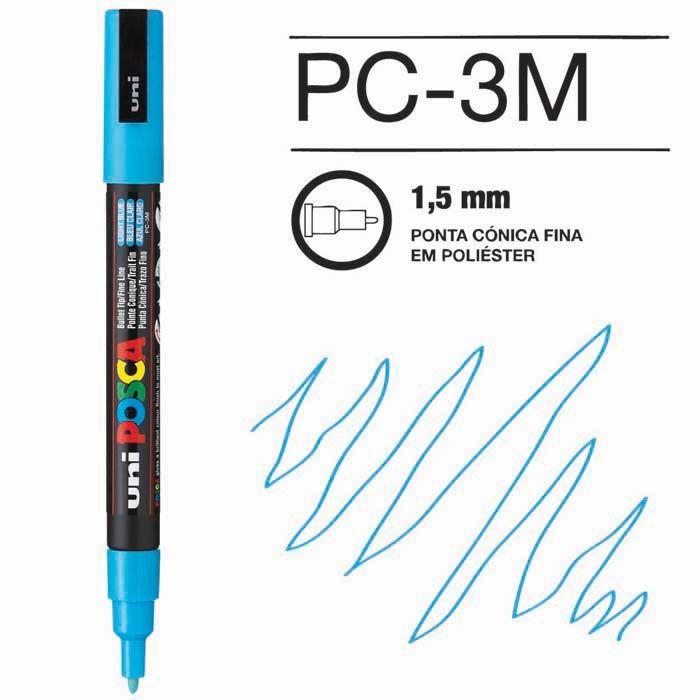 Posca Pen 3M Azul Claro