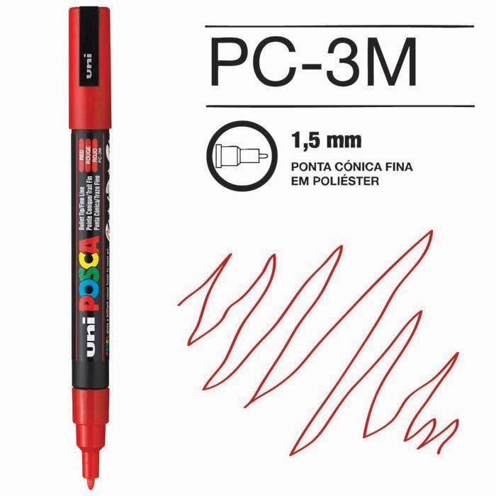Posca Pen 3M Vermelho