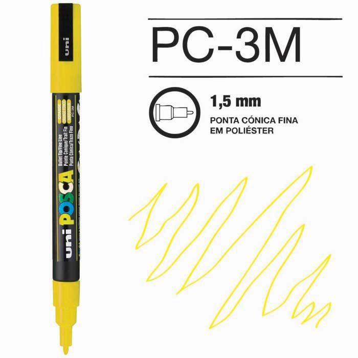 Posca Pen 3M Amarelo