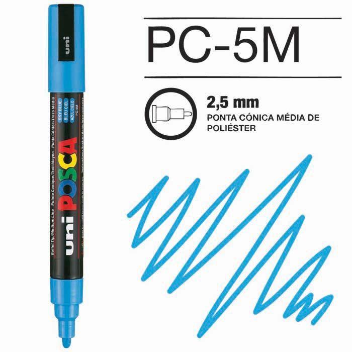 Posca Pen 5M Azul Claro