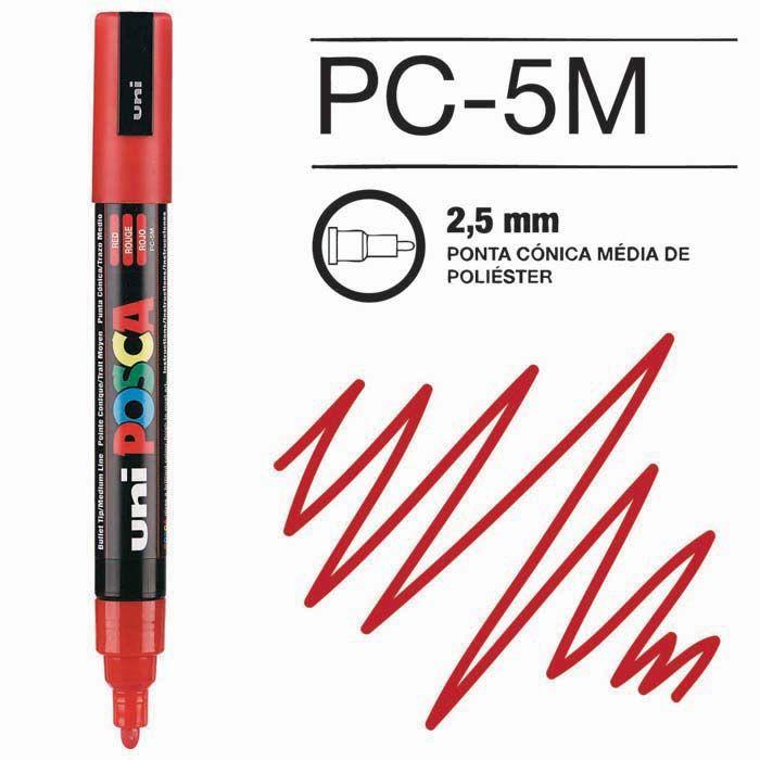 Posca Pen 5M Vermelho