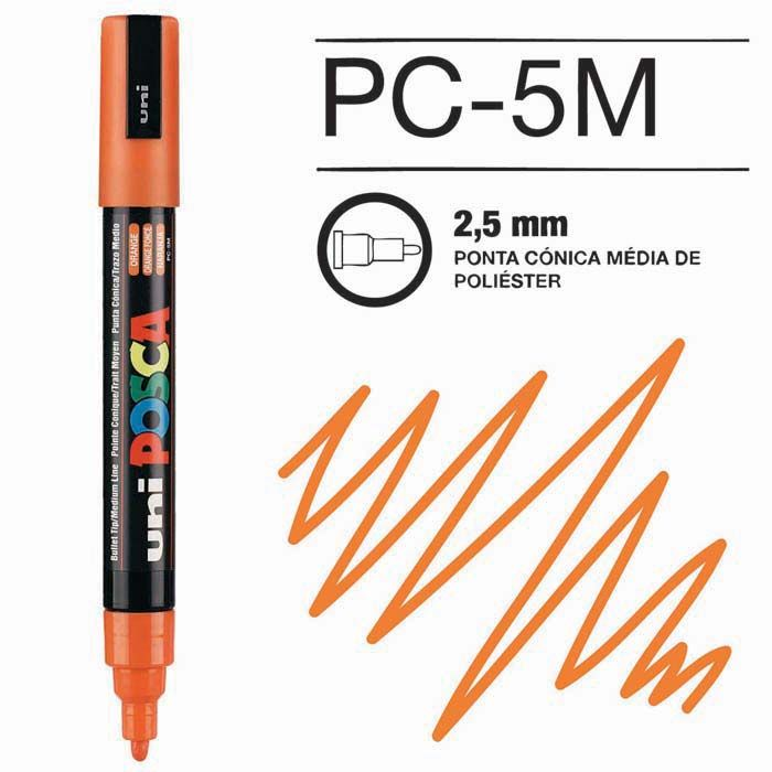 Canetas/Tintas Posca 5M Laranja