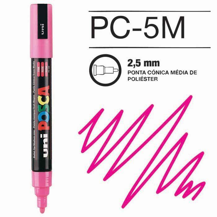 Posca Pen 5M Rosa