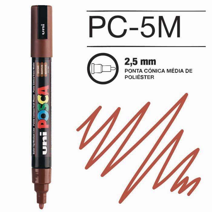 Posca Pen 5M Castanho
