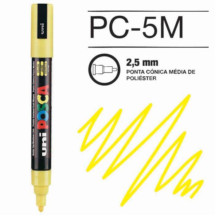 Posca Pen 5M Amarelo