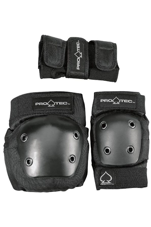 Proteção Pro Tec STREET GEAR JUNIOR 3 PACK Black