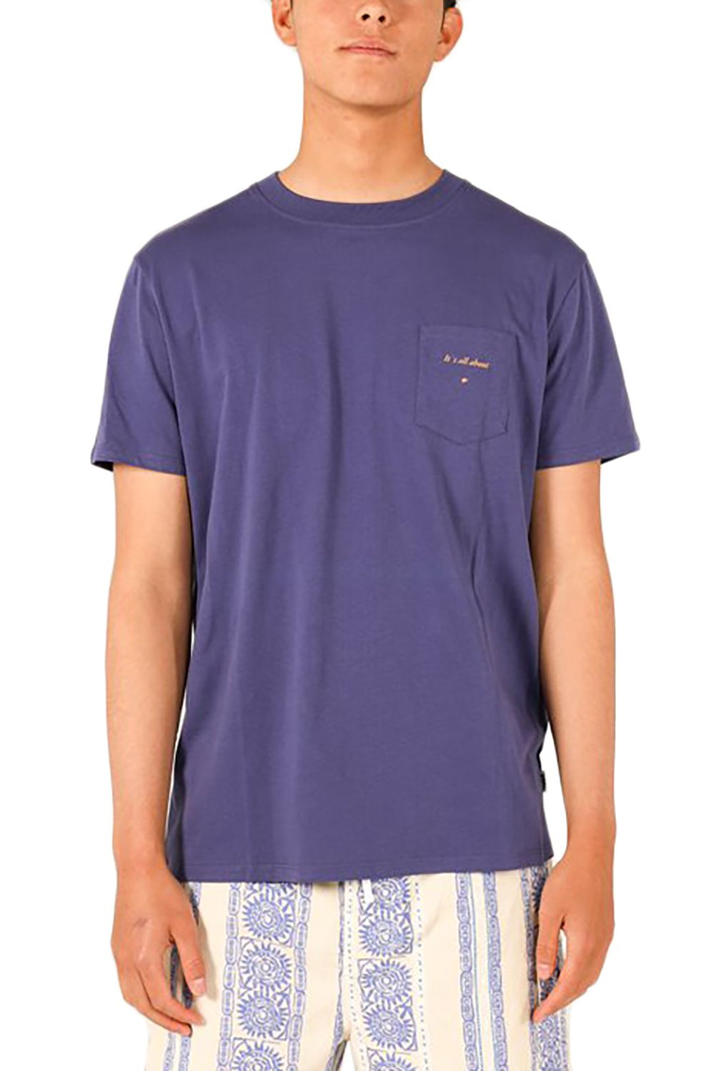 T-Shirt Pukas POCKET SURFING WITH AMIGOS Ultra Violet