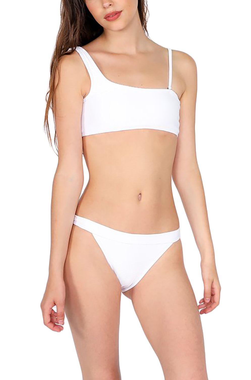 Bikini Top Pukas BAND DOUBLE STRAP White