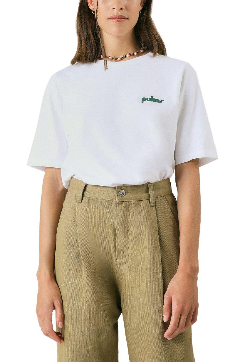 T-Shirt Pukas WMN TEE EIGHTIES White