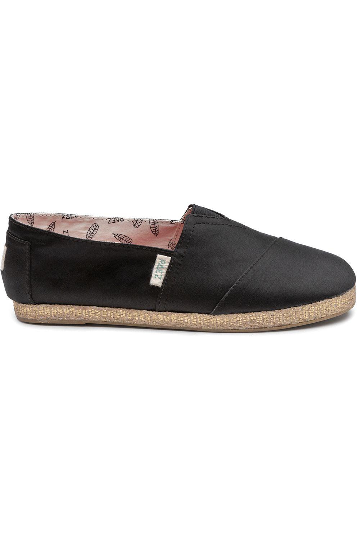Paez Sandals CLASSIC SATIN Black