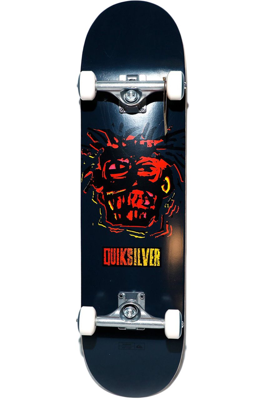 "Street Skate Quiksilver 8"" X 32"" WARPAINT Navy Blazer"