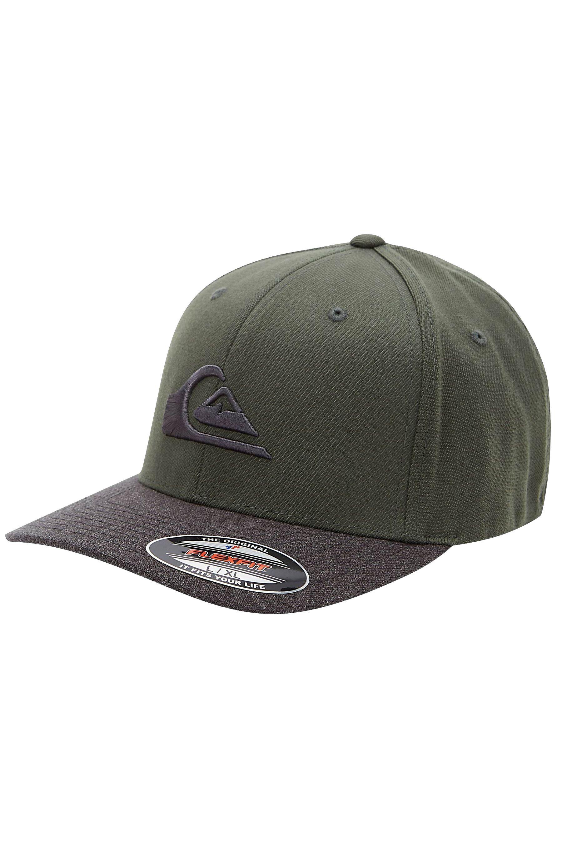 Quiksilver Cap   MOUNTAIN AND WAVE Thyme/Black