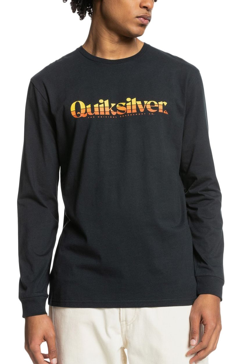 Quiksilver L-Sleeve PRIMARY COLOURS Black