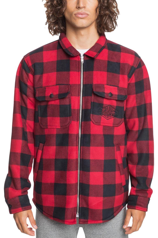 Quiksilver Shirt TOLALA M OTLR Black Tolala Check