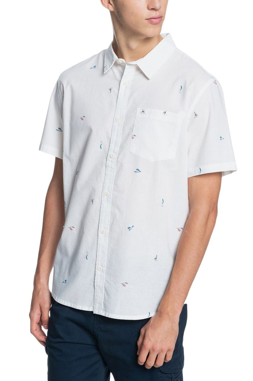 Camisa Quiksilver YACHT ROCK M WVTP Snow White Yacht Rock