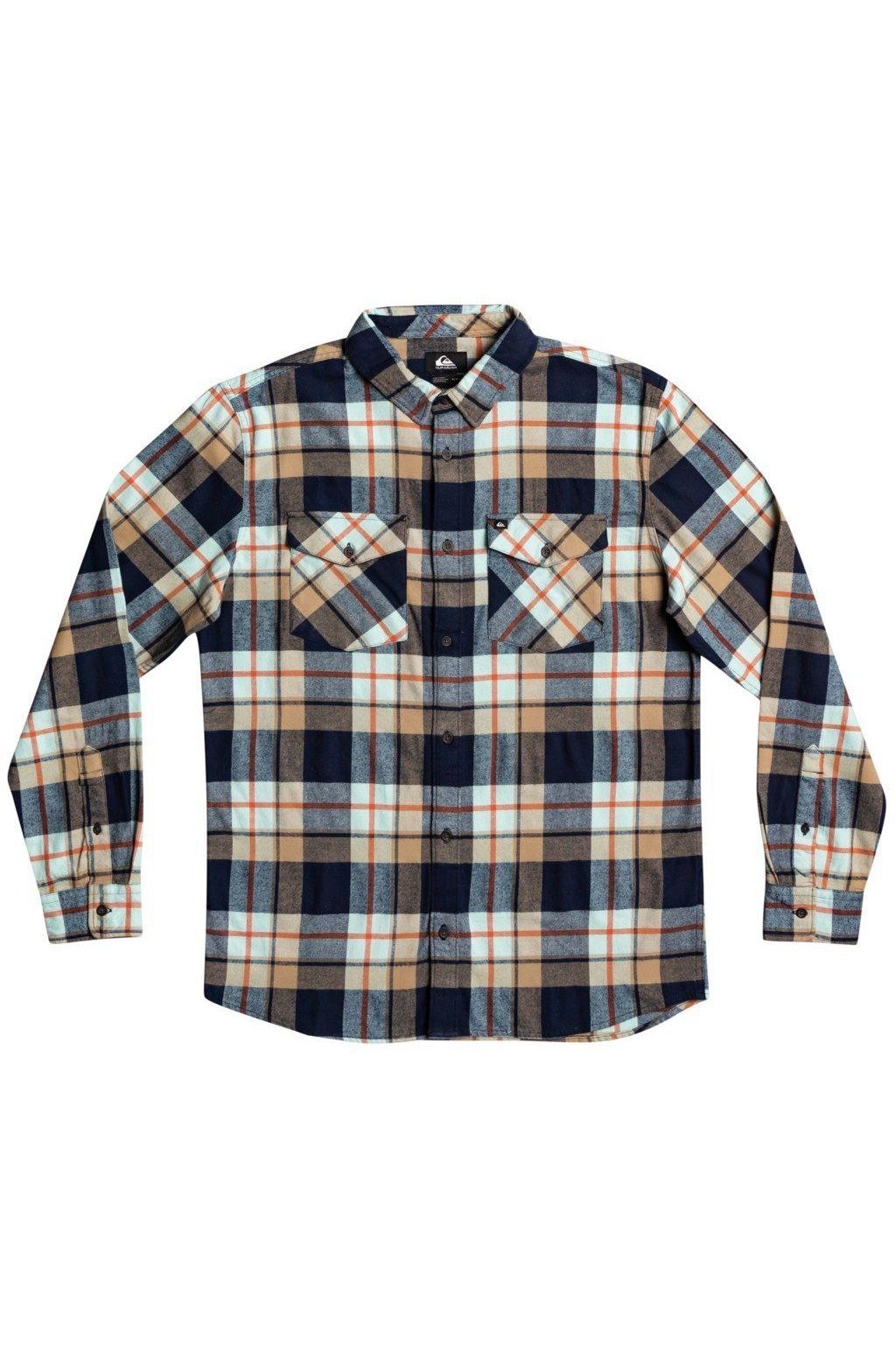 Quiksilver Shirt DRAYMEN STRETCH Blue Light Draymen