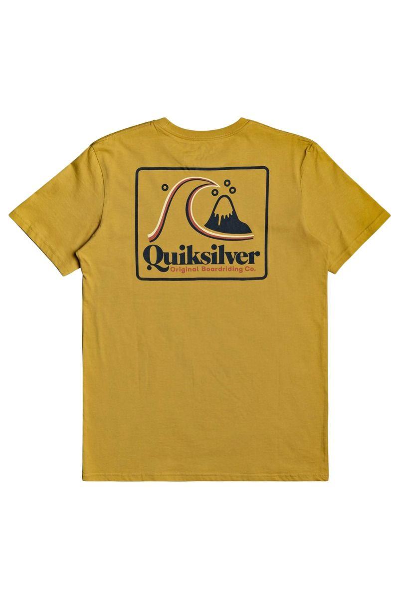 T-Shirt Quiksilver BEACHTONESSS M TEES Honey