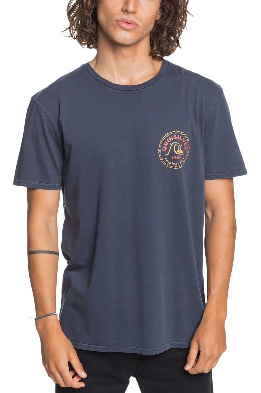 T-Shirt Quiksilver DEVILSWINKSS M TEES Parisian Night