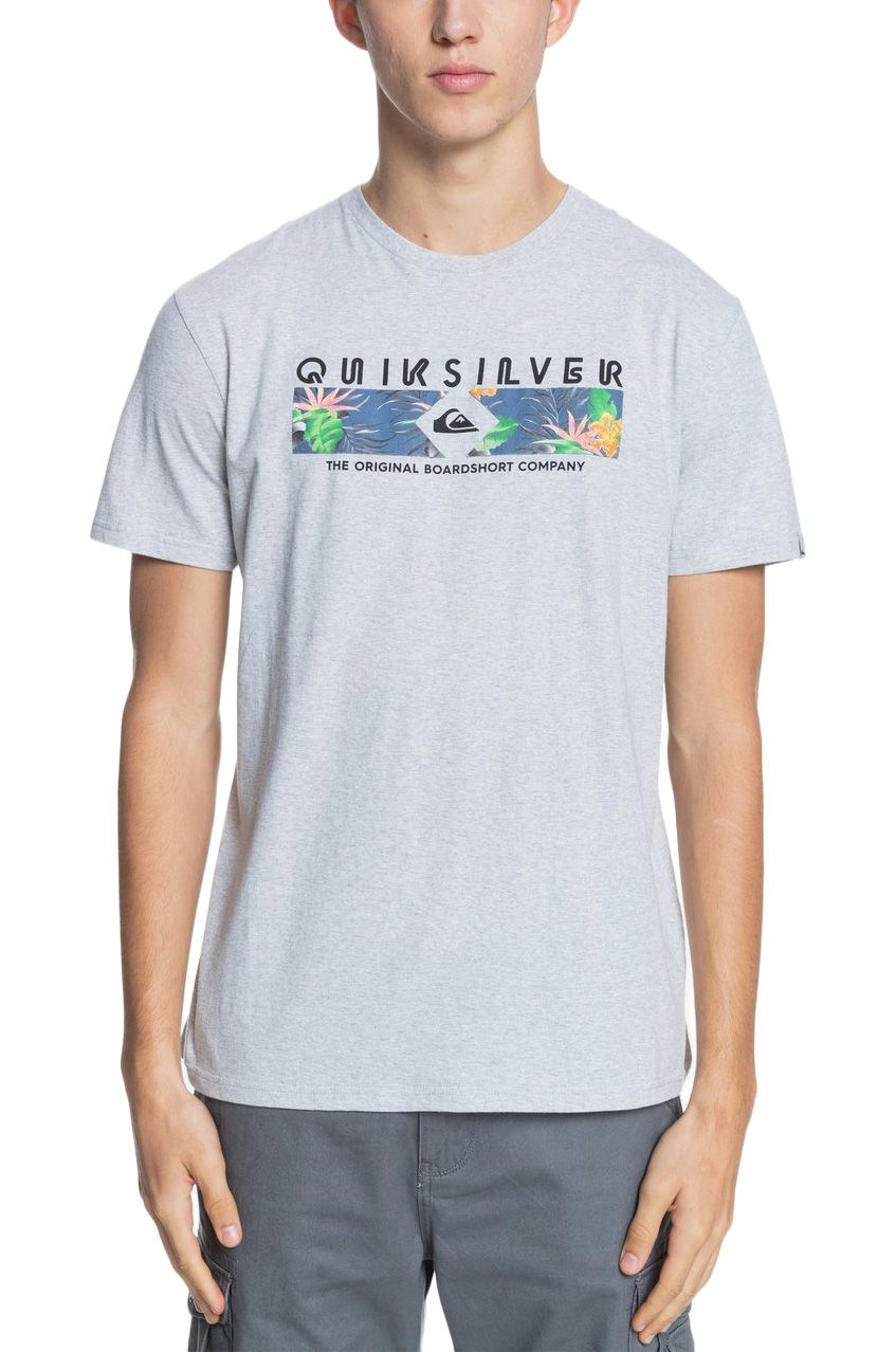 T-Shirt Quiksilver DISTANTSHORESS M TEES Athletic Heather