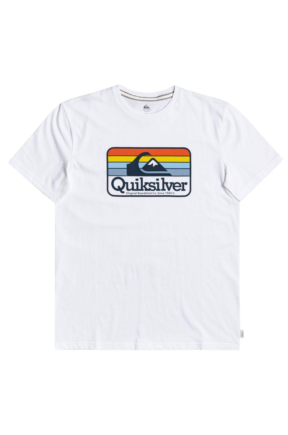 T-Shirt Quiksilver DREAMERSOFTHESH M TEES White