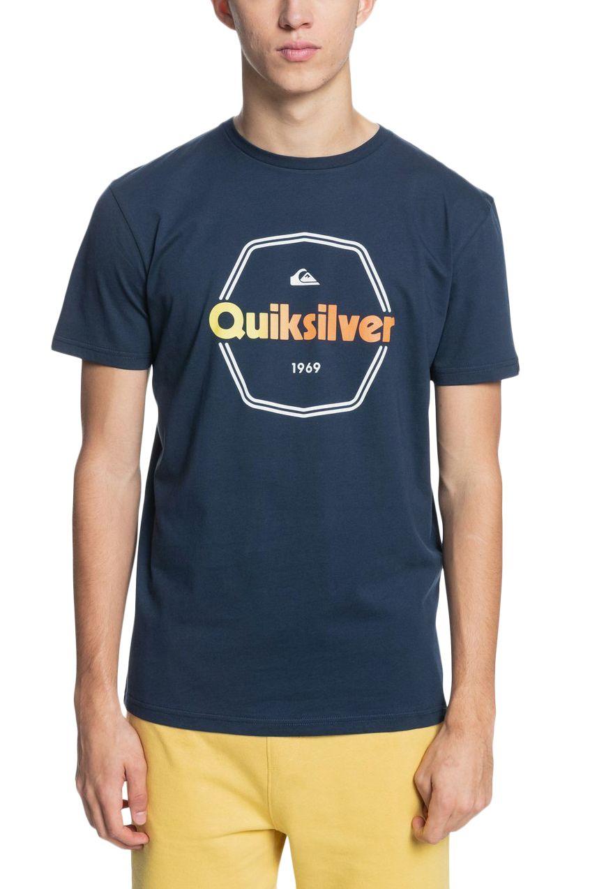 T-Shirt Quiksilver HARDWIREDSS M TEES Navy Blazer
