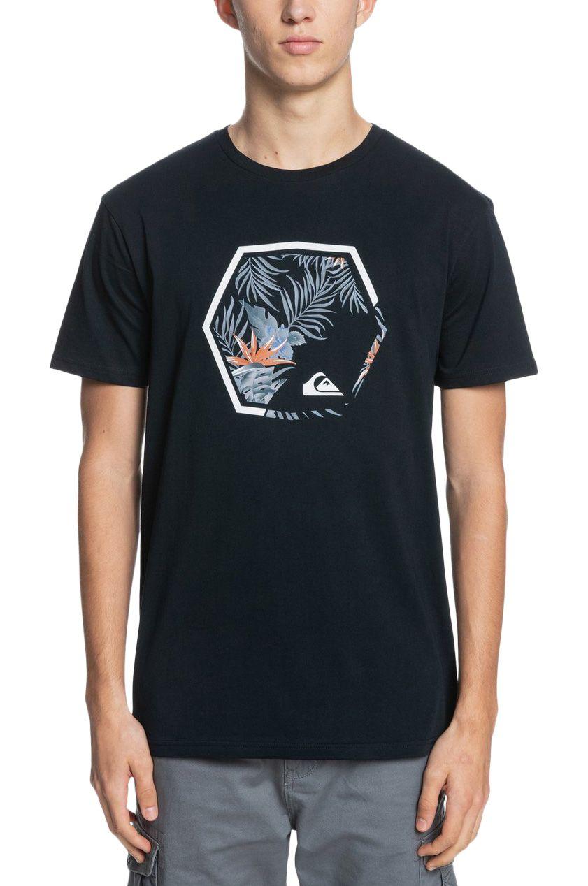 T-Shirt Quiksilver FADINGOUTSS M TEES Black