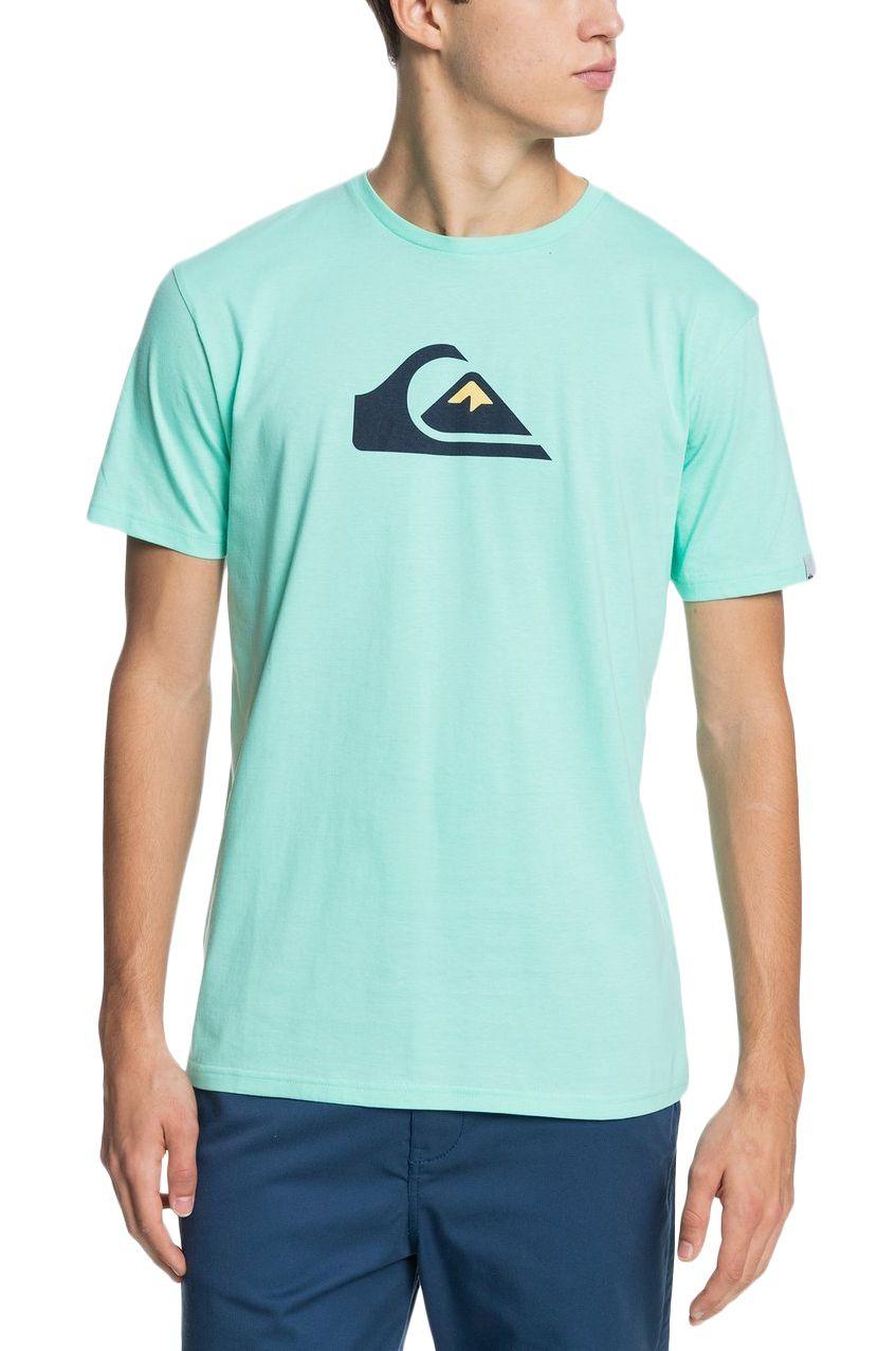 T-Shirt Quiksilver COMPLOGOSS M TEES Cabbage