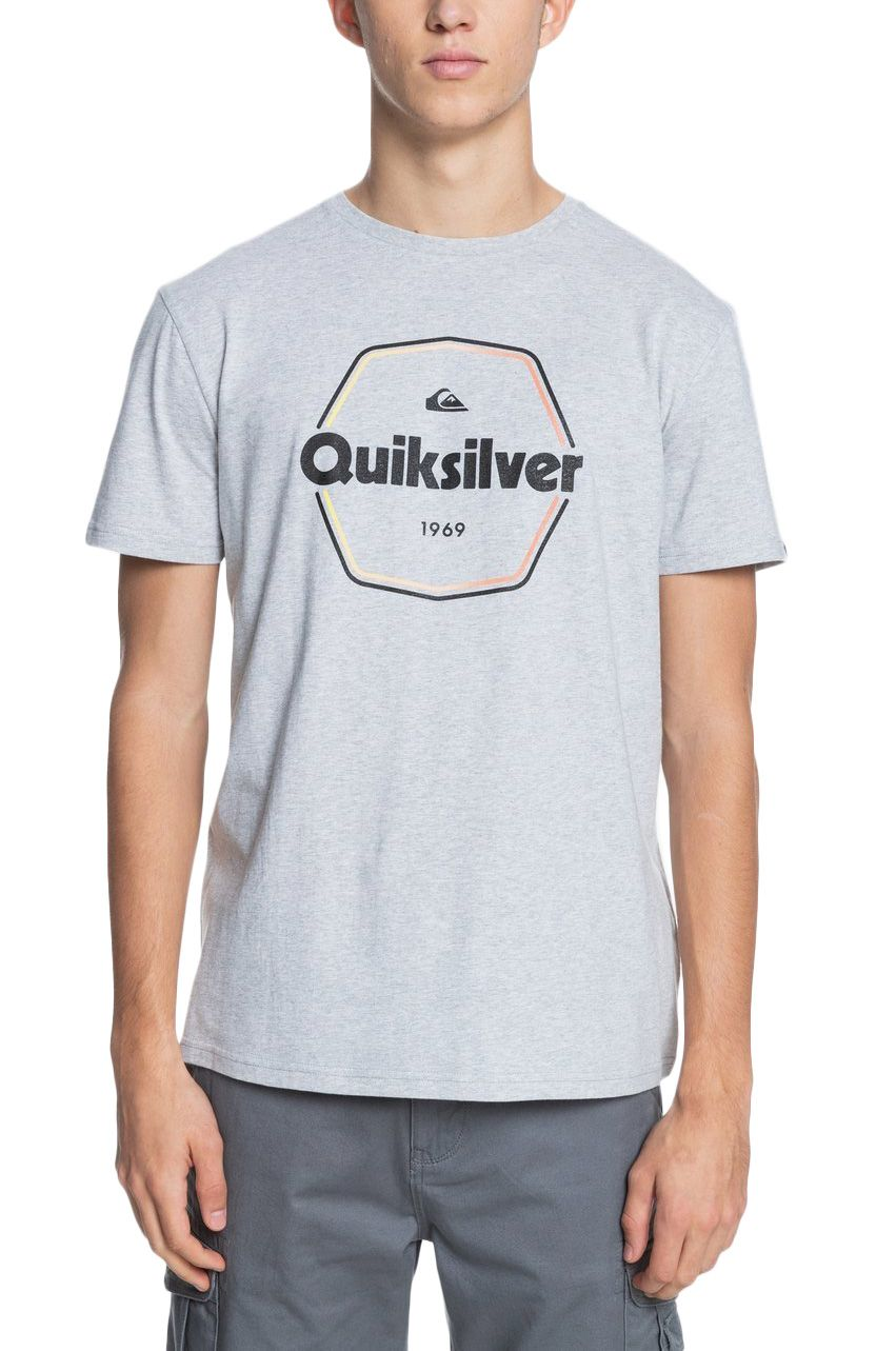 T-Shirt Quiksilver HARDWIREDSS M TEES Athletic Heather