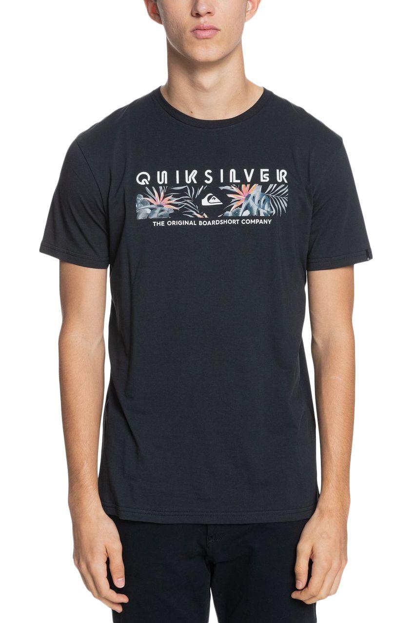 T-Shirt Quiksilver DISTANTSHORESS M TEES Black