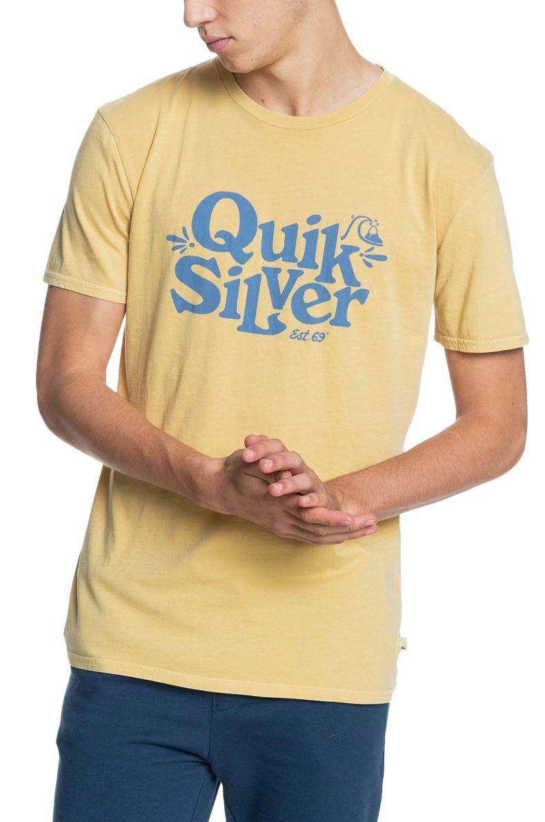 Quiksilver T-Shirt TALL HEIGHTS Rattan
