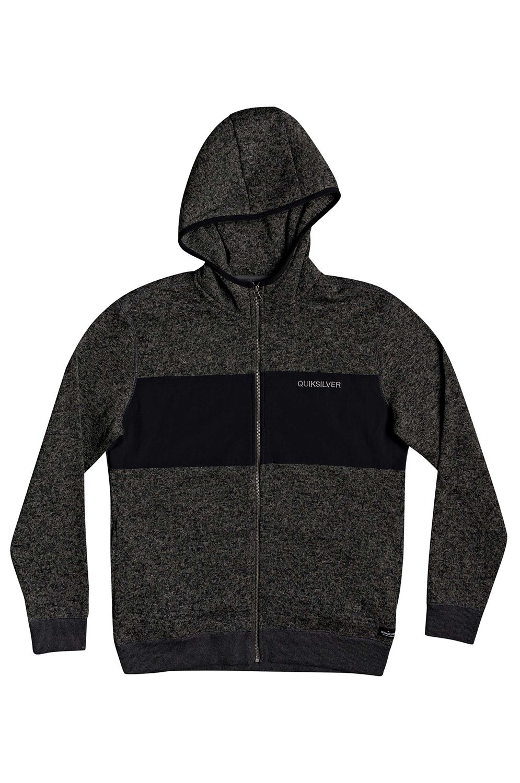 Quiksilver Sweat Sherpa KELLERHZNYLO M OTLR Dark Grey Heather