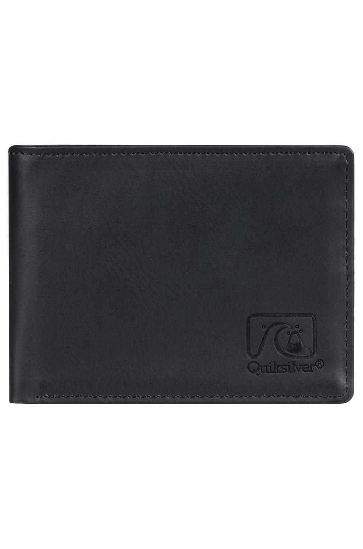 Quiksilver Wallet PU  SLIM VINTAGEIV Black