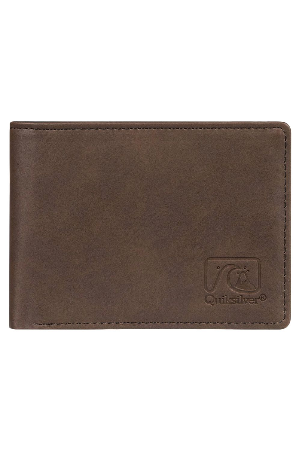 Carteira PU Quiksilver SLIM VINTAGEIV Chocolate Brown