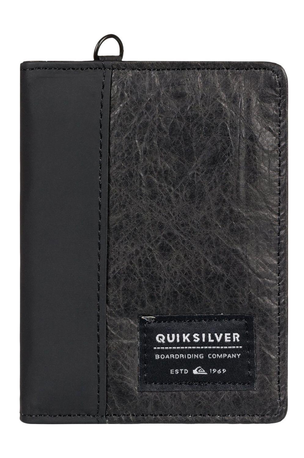 Quiksilver Wallet PU  BLACKWINE/S Black