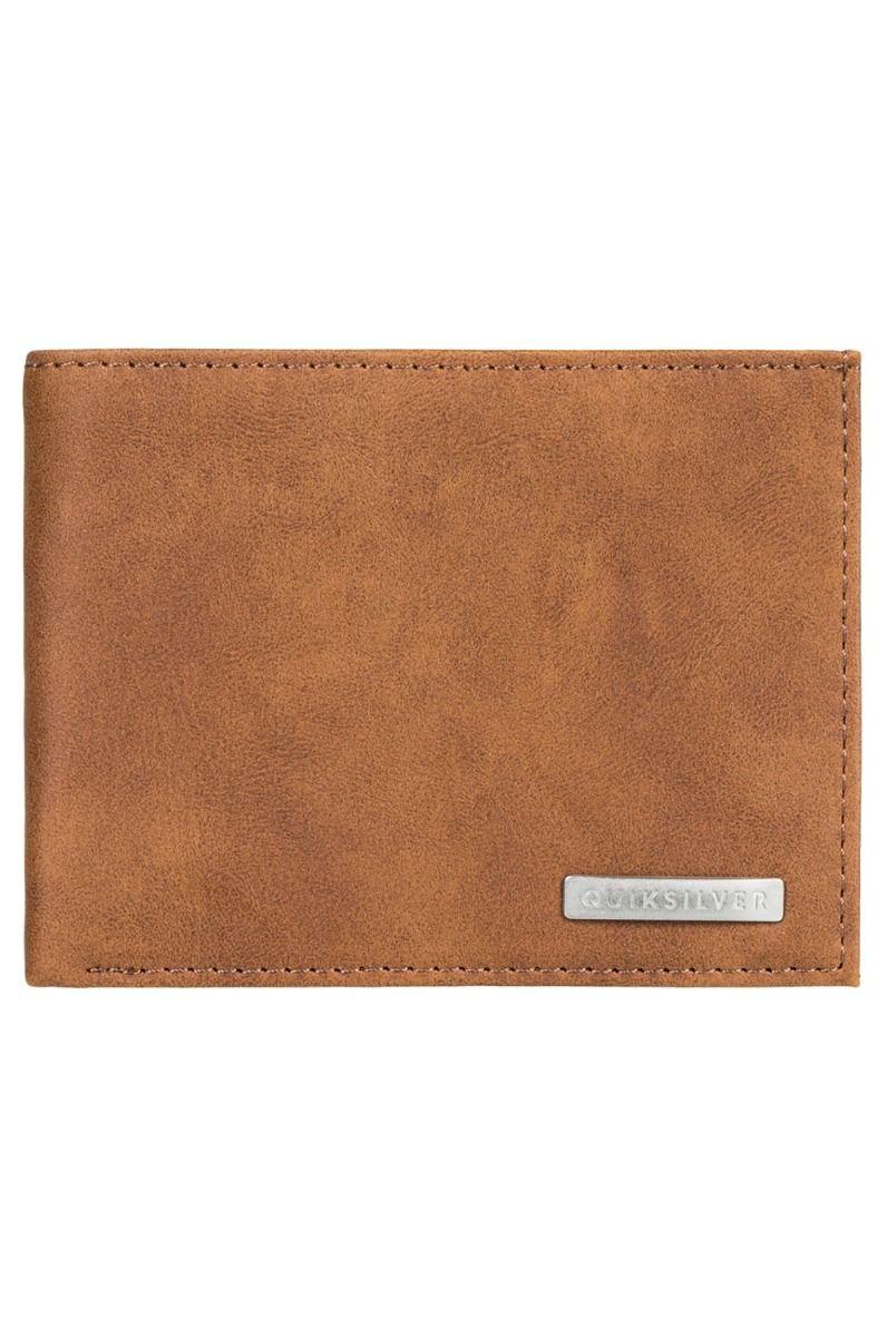 Quiksilver Wallet PU  BRIDGIES IV M WLLT Chocolate Brown
