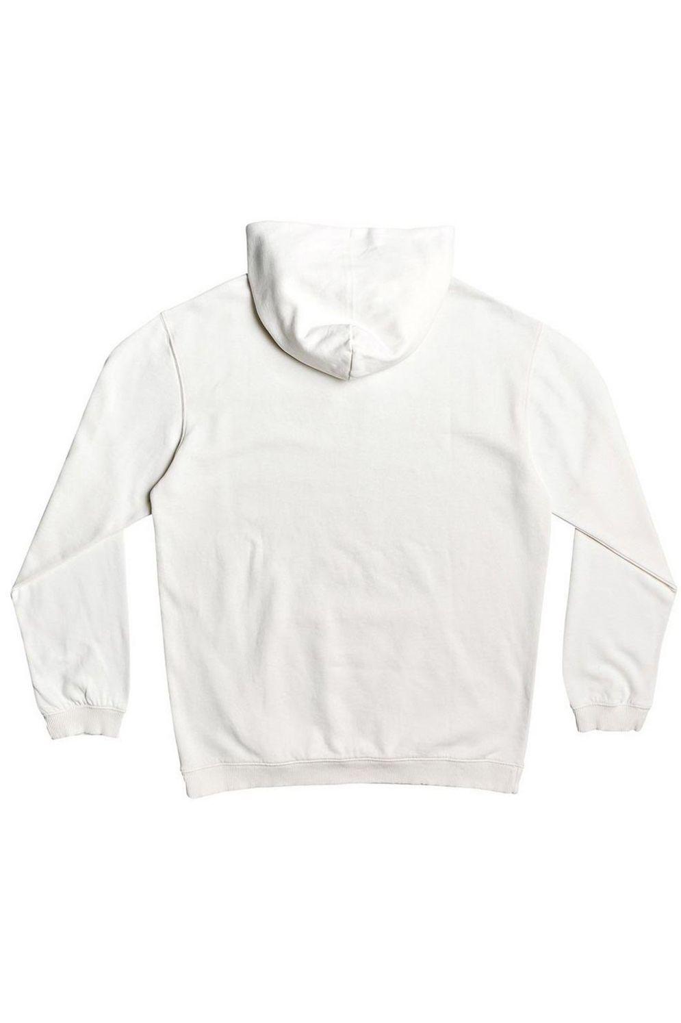 Sweat Capuz Quiksilver ACID SUN Antique White