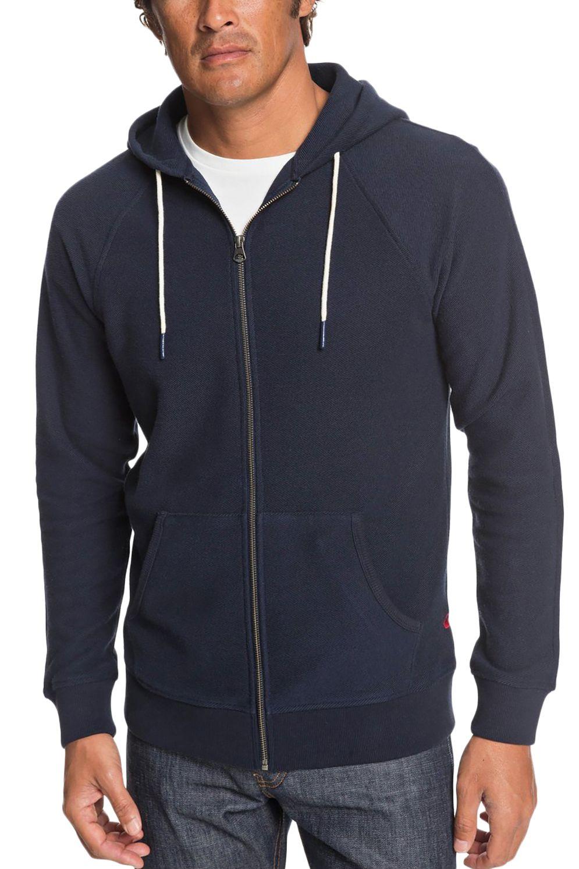 Quiksilver Sweat Zip Hood GOUF M OTLR Navy Blazer