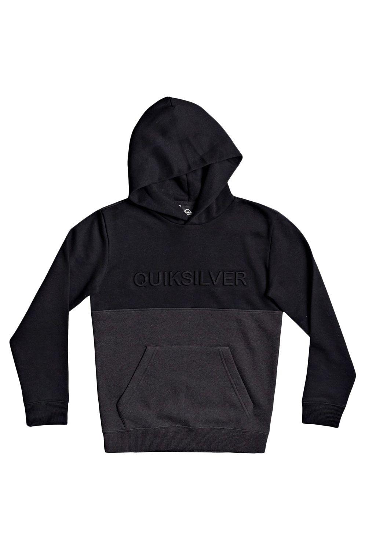 Quiksilver Sweat Hood EMBOSSBLHOODYTH B OTLR Black