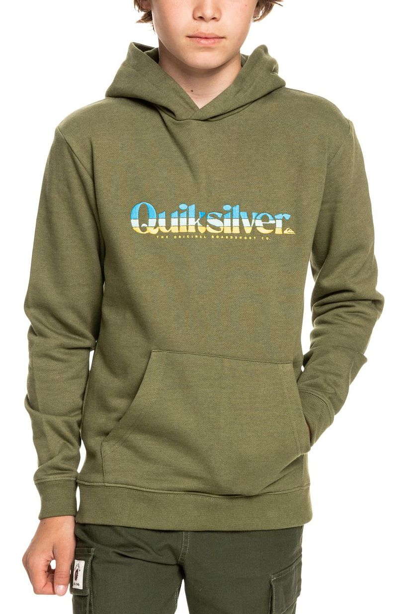 Quiksilver Sweat Hood PRIMARY COLOURS Four Leaf Clover