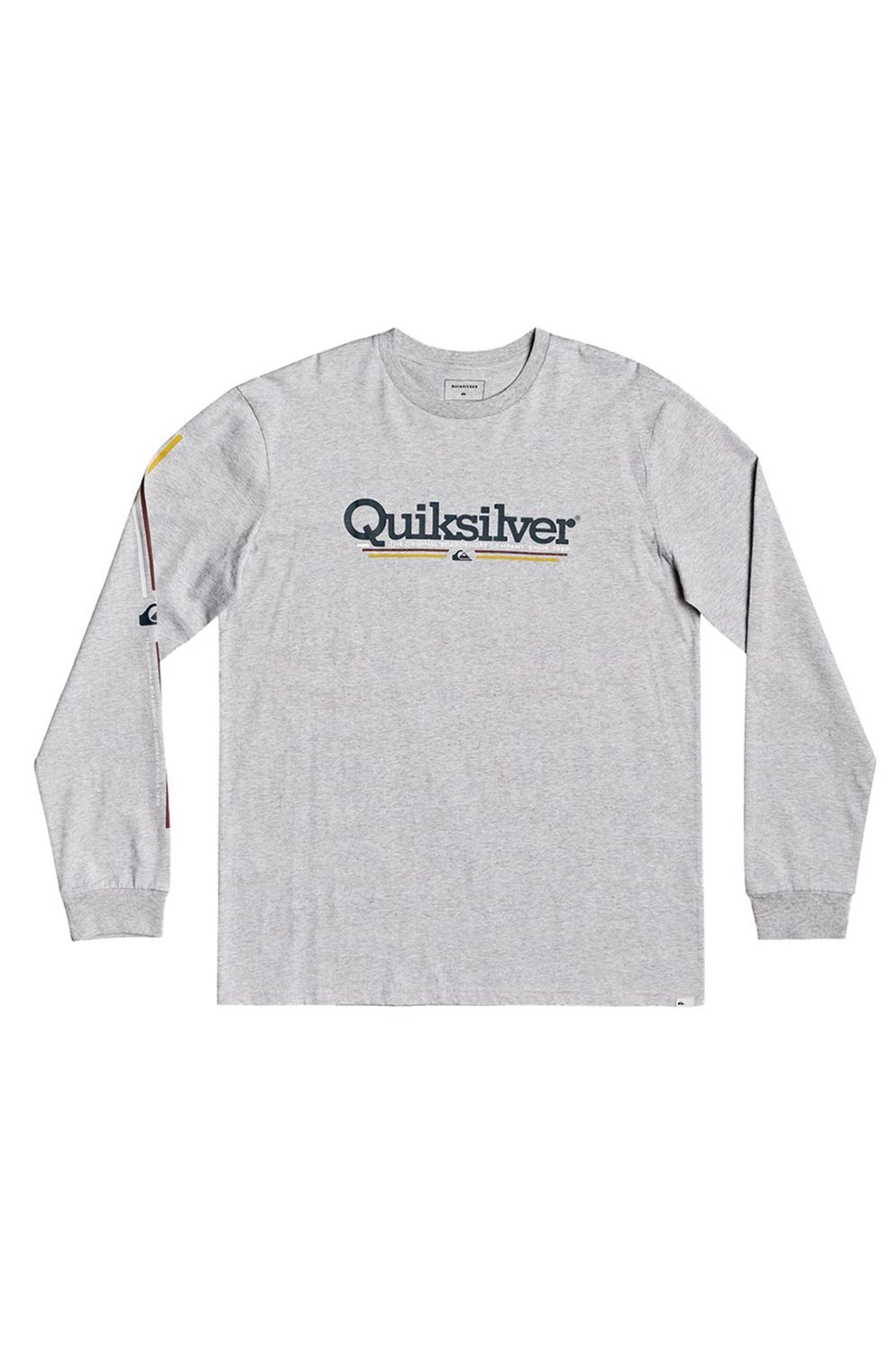 L-Sleeve Quiksilver TROPICALLINESYT B TEES Athletic Heather