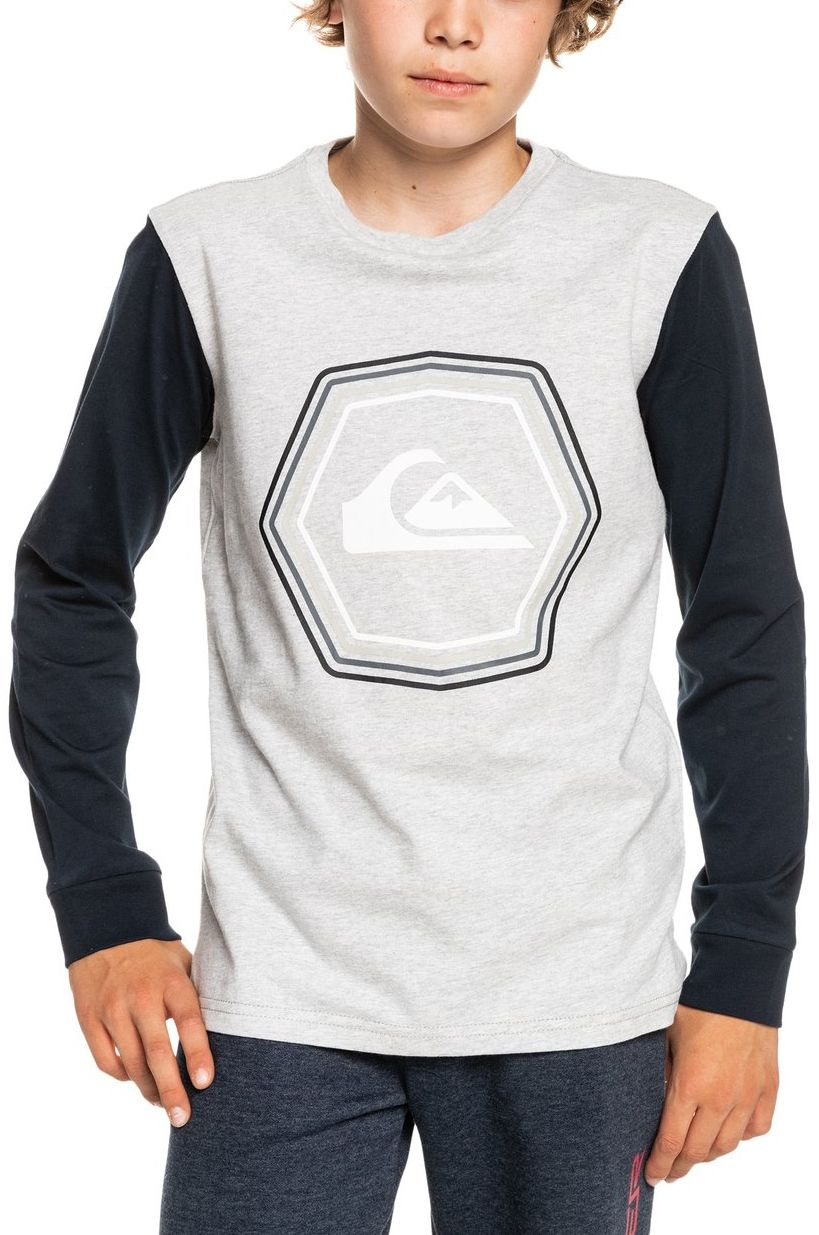 Quiksilver L-Sleeve NEW NOISE Athletic Heather